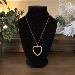 H&M • Big Heart Necklace